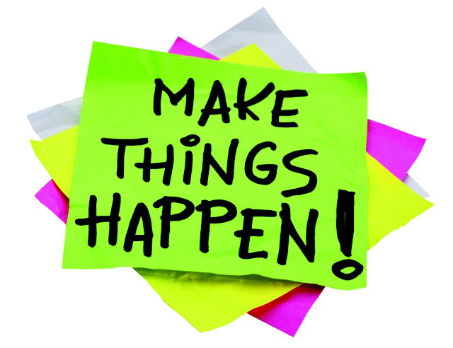Make things happen post it 2